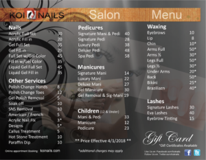 A List Nails And Spa